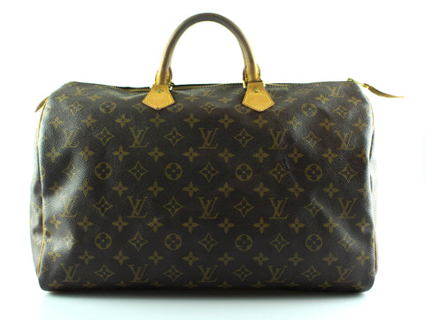 Louis Vuitton Monogram Speedy 40 TH0093
