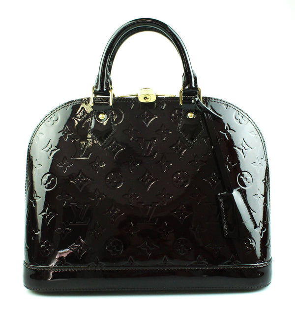 Louis Vuitton Alma PM Vernis Amarante CT4165
