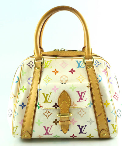 Louis Vuitton Priscilla White Multicolour Tote SP1026 399c2bbf2f60a