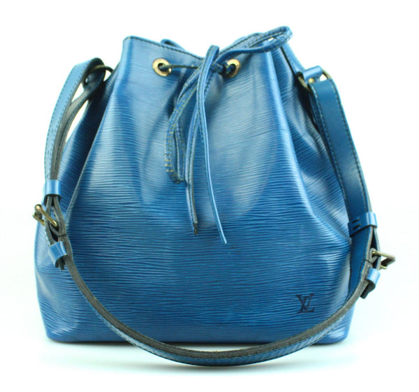 Louis Vuitton Vintage Toledo Blue Epi Leather Noe 8907A2