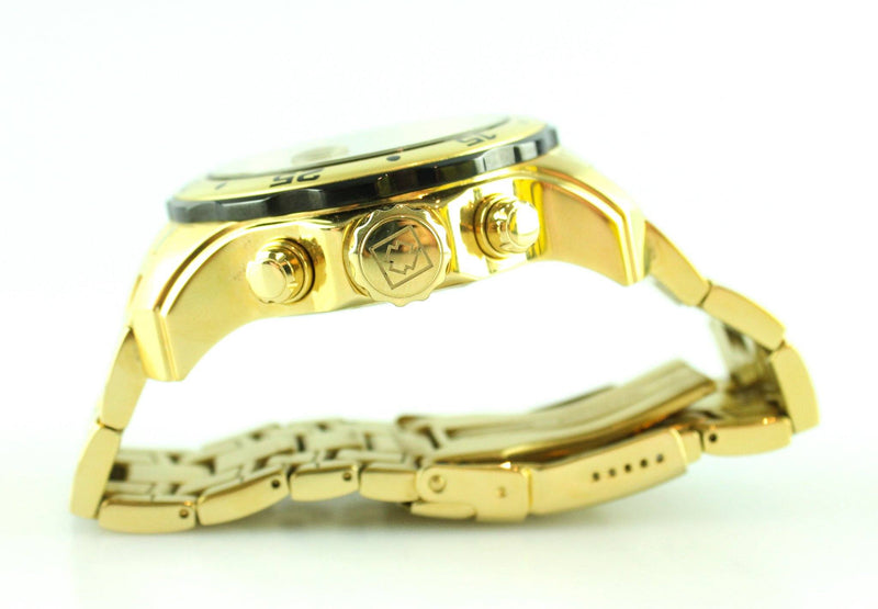 Invicta Master Of the Oceans Gold Plated Divers Watch
