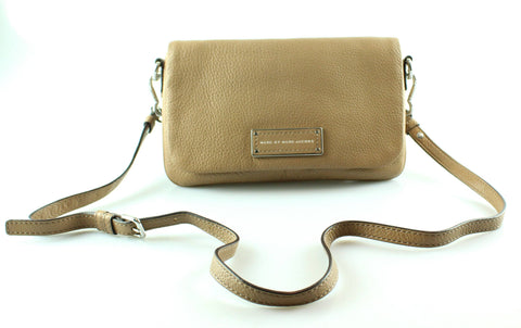 Marc By Marc Jacobs Tan Cross Body Messenger