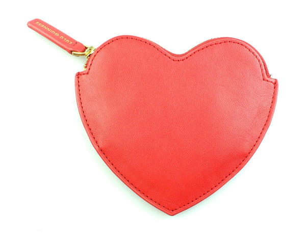 Lulu Guinness Red Heart Coin Purse