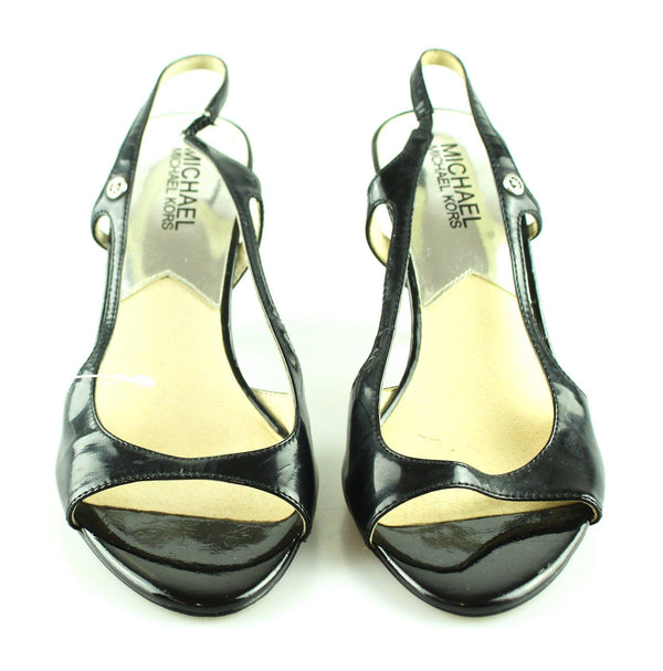 Michael Kors Black Patent Heels UK 6 / EUR 39