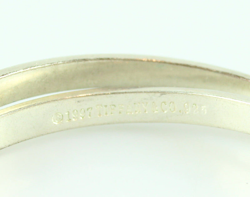 Tiffany & Co Notes Collection Interlocking Large Bangles 925