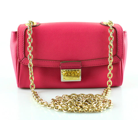 Dolce And Gabanna Hot Pink Saffiano Cross Body GH