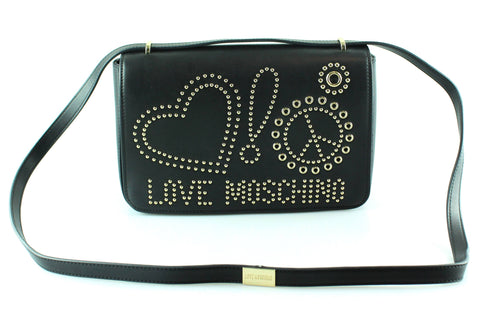 Love Moschino Studded Love And Piece Crossbody