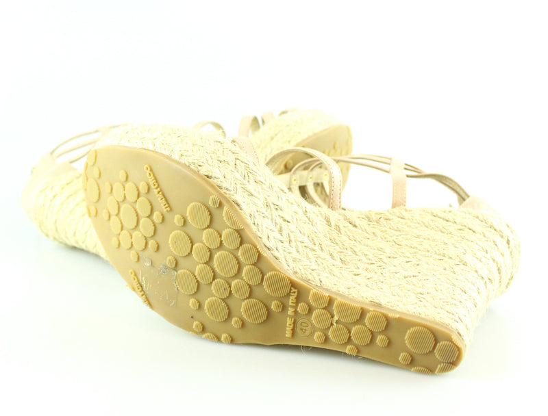Jimmy Choo Poise Cage Espadrille 40/7