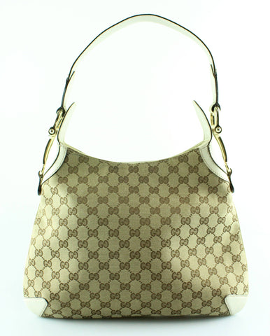 Gucci GG Creole Shoulder Bag Horsebit Detail GH