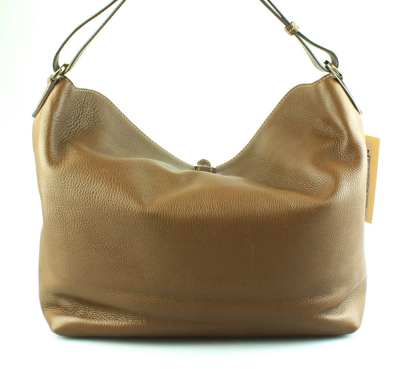 Mulberry Tan Leather Soft Grain Tessie Hobo