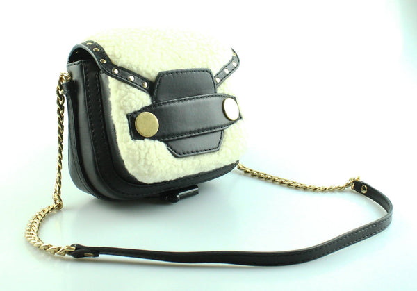 Stella McCartney Alter Shearling Fur Free Fur Shoulder Bag