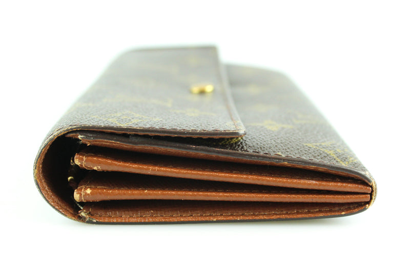 Louis Vuitton Monogram Sarah Wallet (Old Style) TH1022