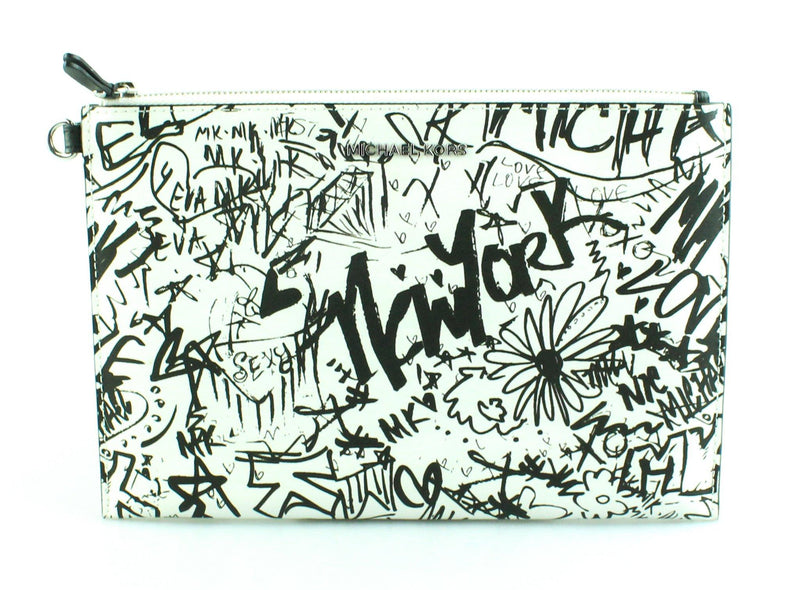 Michael Kors Graffiti Collection Duo Travel Pouch