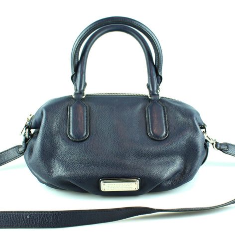 7b7a95553ba1 Marc By Marc Jacobs Navy Legend Bag SH