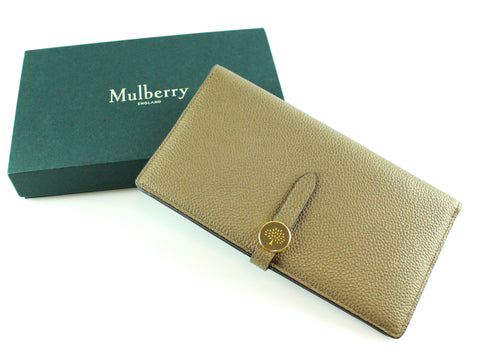 239a42861fe0 Mulberry Clay Two Tone Long Tree Wallet GH RRP €350