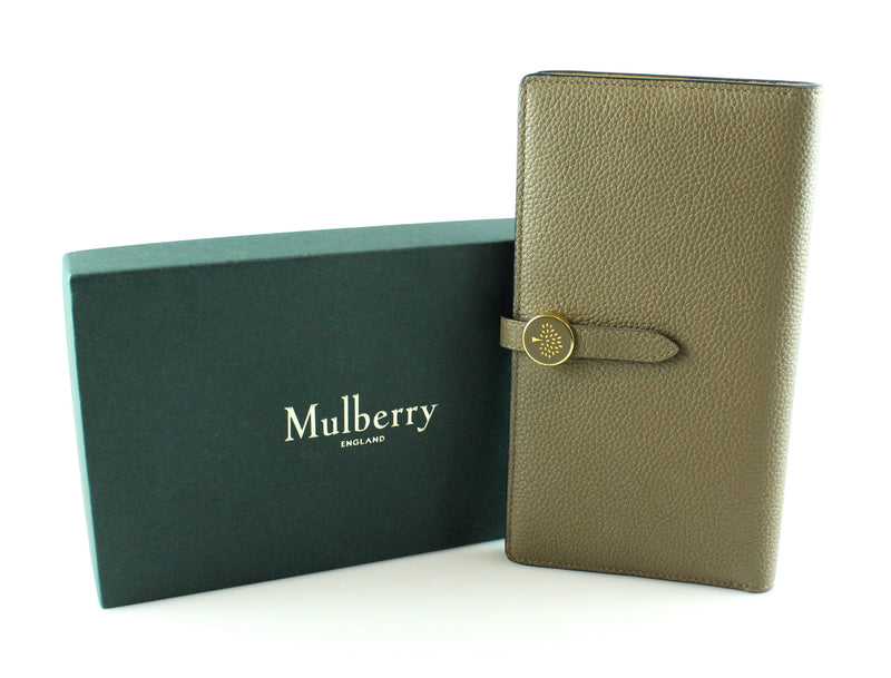Mulberry Clay Two Tone Long Tree Wallet GH RRP €350