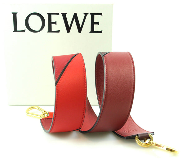 Loewe Degrade Strap Red Multi Two Tone Red GH