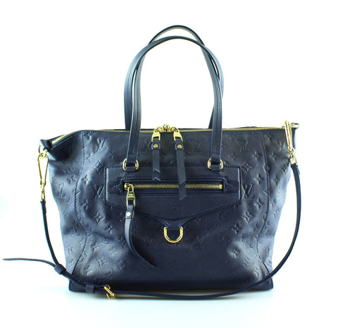 Louis Vuitton Lumineuse Marine Monogram Empreinte PM TR1183