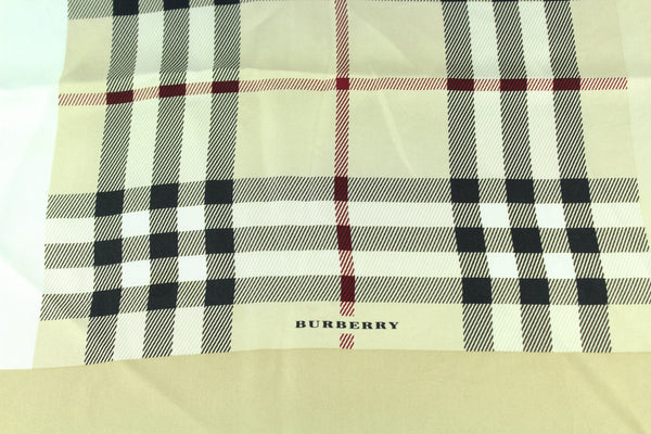 Burberry Heritage Check Silk Square 45cm
