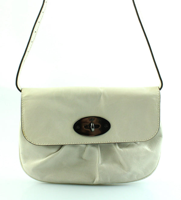 Mulberry Off White Leather Small Shoulder Bag GMH