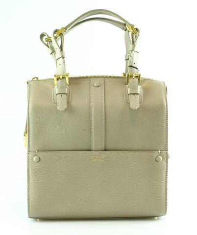 Giorgio Armani Turtledove Bauletto Piccolo Vitello Stamp Bag