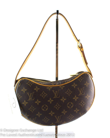 Louis Vuitton Classic Monogram Croissant Bag PM MI0093