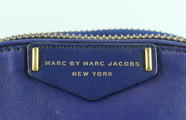 Marc By Marc Jacobs Downtown Lola Electric Blue Messenger