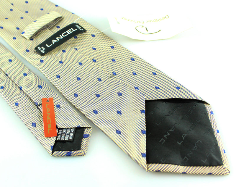 Lancel Silk Diamond Tie