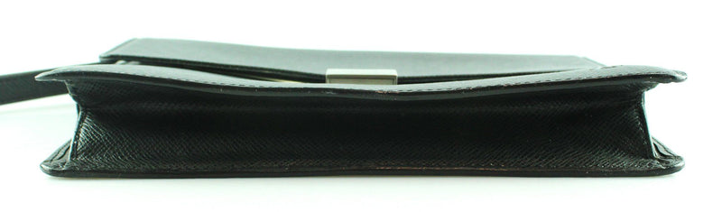 Louis Vuitton Salenga Taiga Leather Epicea Wristlet/Folio CA0096