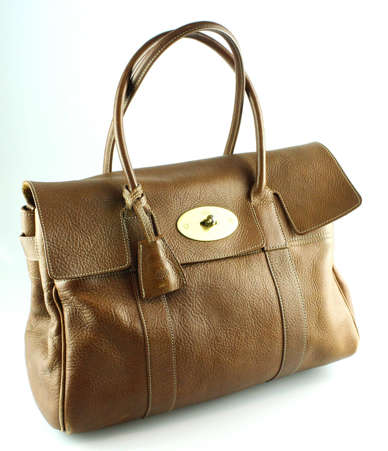 Mulberry Oak Nat Veg Tanned Bayswater Brass GH
