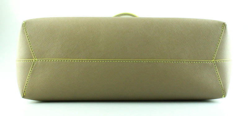 Marc By Marc Jacobs Metropolitote Light Brown/Yellow Colour Block