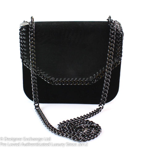 Stella McCartney Falabella Box Bag Large Velvet