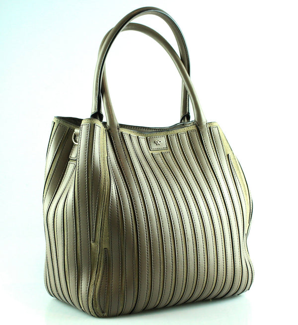 Anya Hindmarch Soft Belvedere Taupe