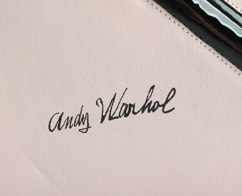 Christian Dior Ltd Edition Large Lady Dior Baby Pink Andy Warhol Collection