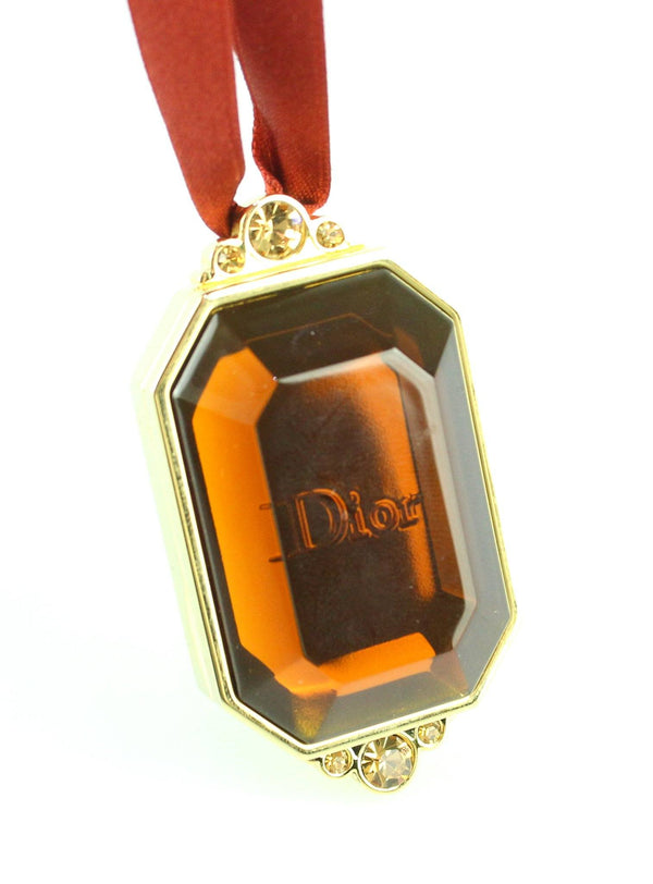 Christian Dior Vintage Make Up Holder Locket Pendant