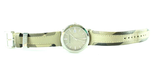 Burberry 21125 The City Smoke Check Watch