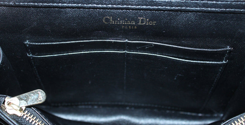 Christian Dior Black Diorama Clutch RRP €1250