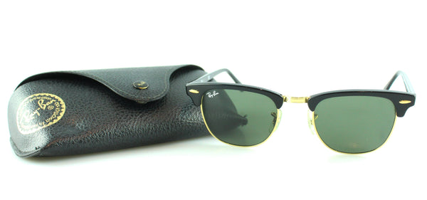 Rayban Clubmasters Black Frame