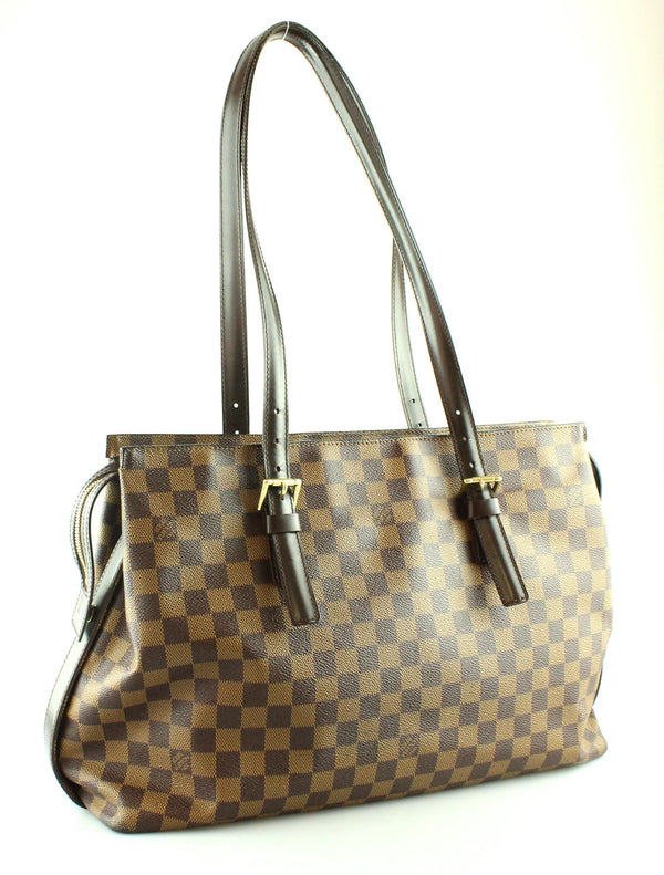 Louis Vuitton Damier Ebene Chelsea Tote AS1907