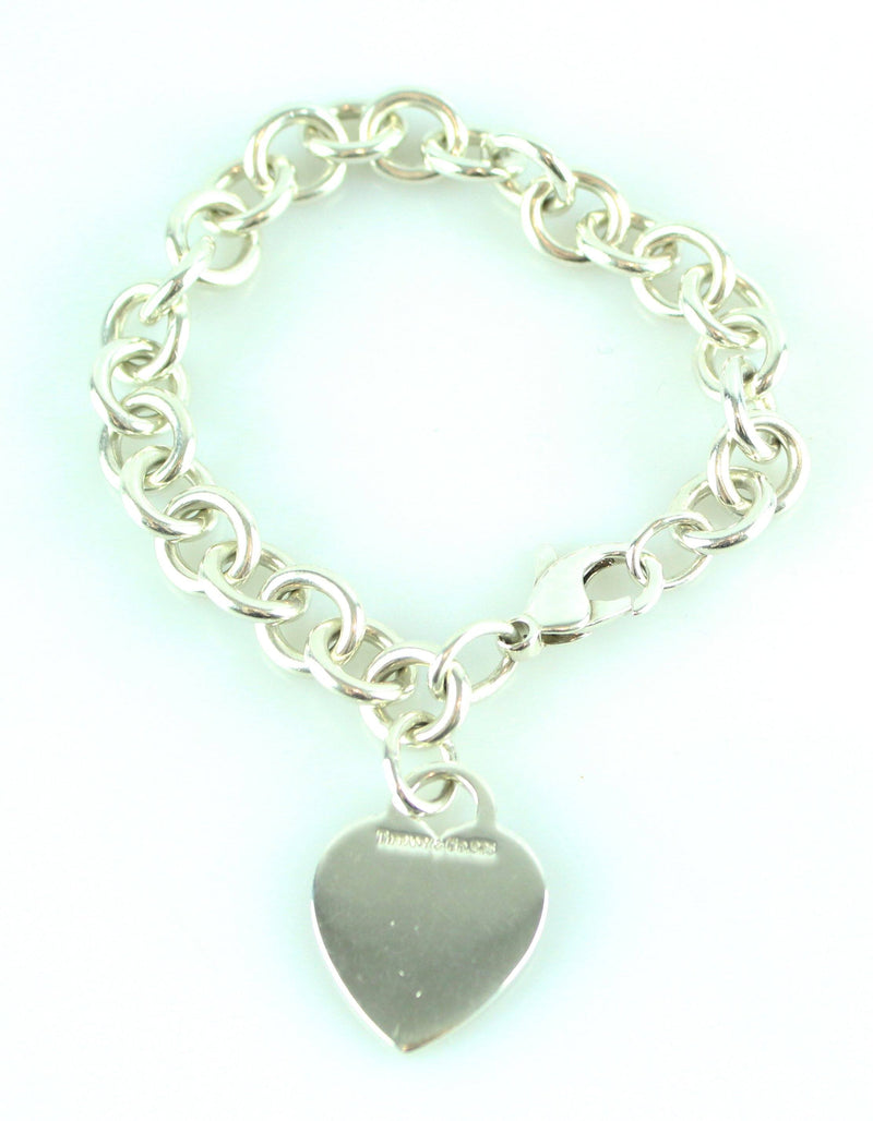 Tiffany RTT Heart Bracelet 925