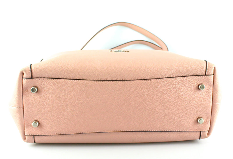 Coach Baby Pink Soft Grained Leather Edie 31