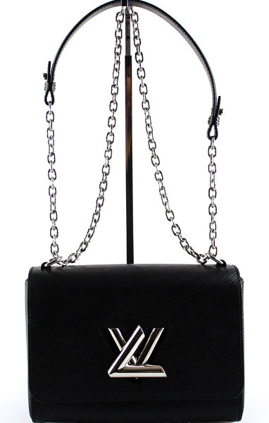 Louis Vuitton Twist MM Epi Leather Black (FL2166)