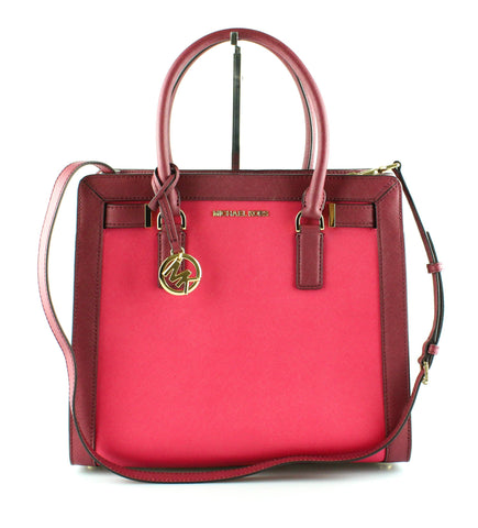 Michael Kors Dillon Tote Two Tone Pink Purple 1093f0b1c1075