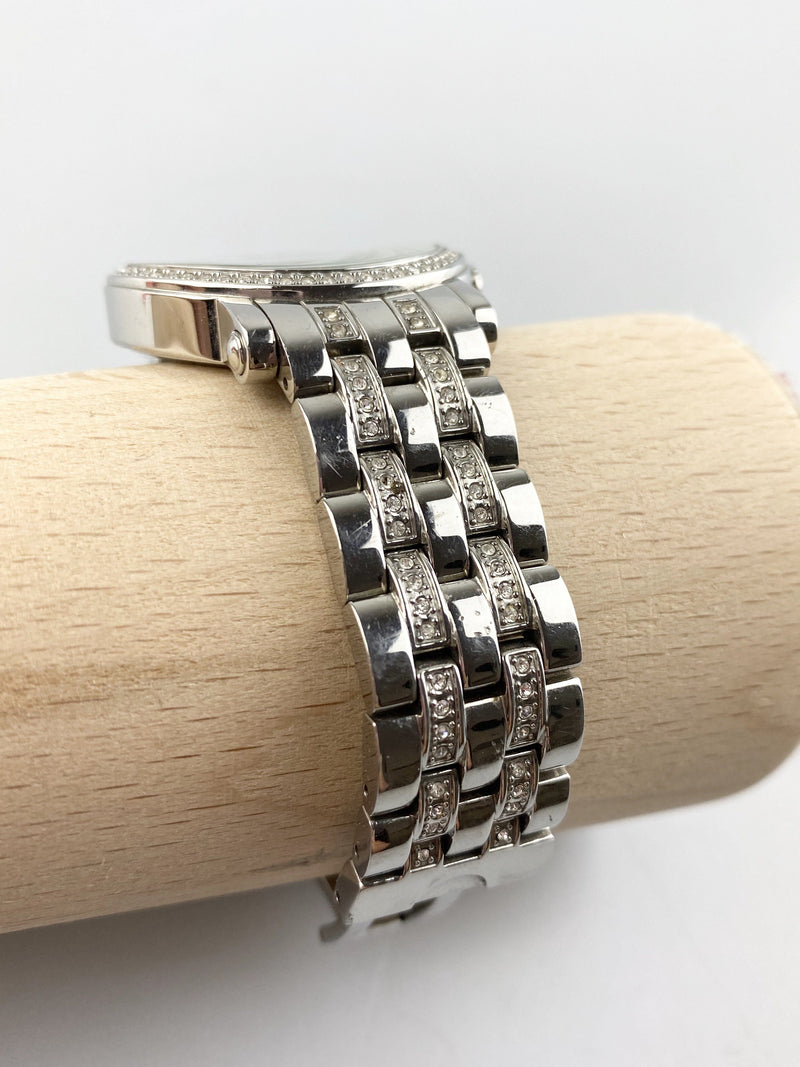 Juicy Couture Stainless Steel And Diamante Watch