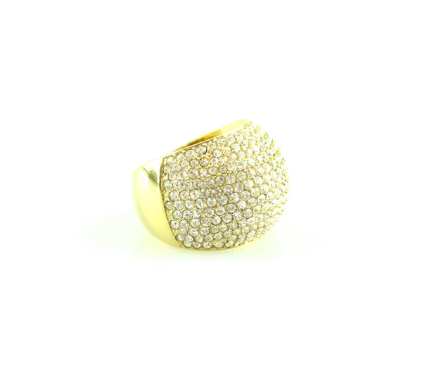 Michael Kors Goldtone Diamante Ring (54)