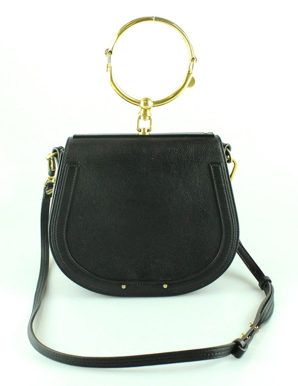 Chloe Black Nile Bracelet bag Medium GH