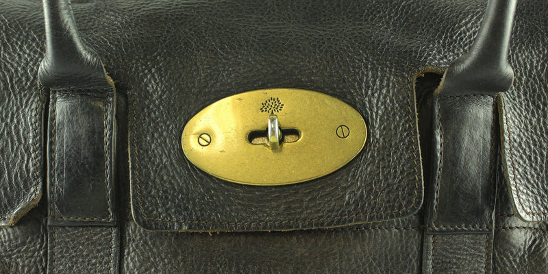 Mulberry Choc Brown Old Model Bayswater No Padlock