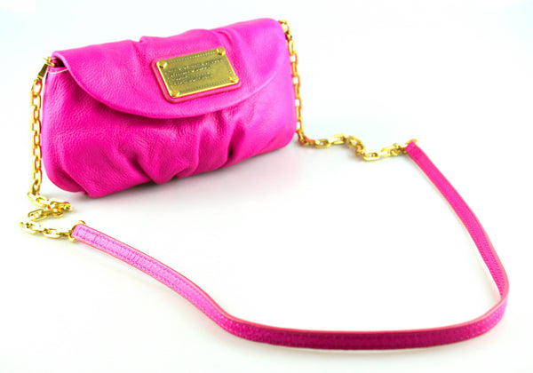 Marc By Marc Jacobs Classic Q Karlie Mini Crossbody Pink