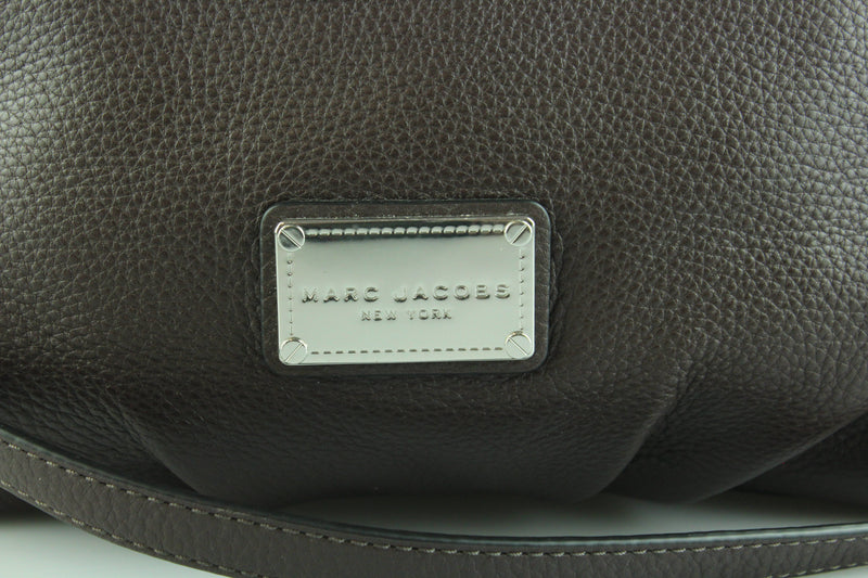 Marc Jacobs Classic Q Choc Brown Leather Shoulder Bag