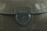 Prada Dark Brown Buffalo Leather Chain Bag